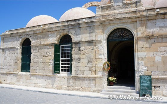 Old Mosque in Chania Crete Greece