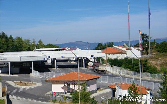 Bulgarian-Macedonian Border Check-Point Gueshevo