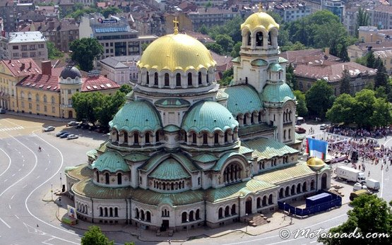 St Alexander Nevsky Cathedral in Sofia