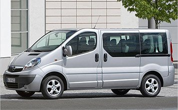 2010 Opel Vivaro 8+1 pax