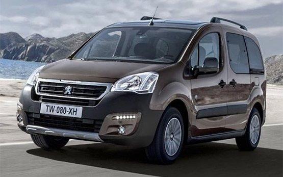 2016 Peugeot Partner 5+2