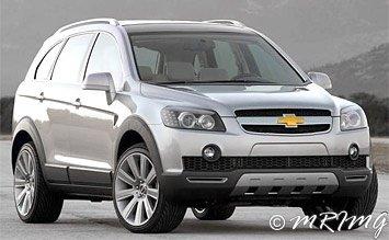 2008 Chevrolet Captiva 6+1