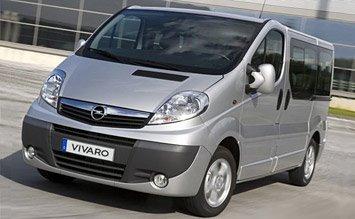 2010 Opel Vivaro 8+1